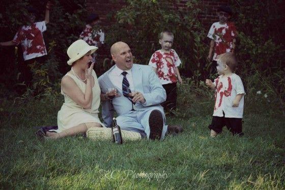 Zombie Photoshoot Halloween Photoshoot Fun Family Photos