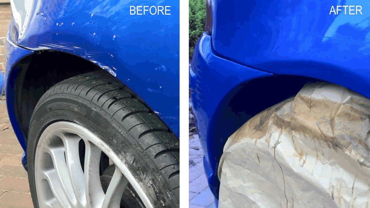 MG ZR - Car Paint Deep Scratch Repair DIY £30