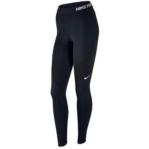 fe9ae8ea6a7c0f Nike Hypercool Leggings ($32) ❤ liked on Polyvore featuring activewear,  activewear pants, women, athletic sportswear, nike activewear pants, nike,  nike ...