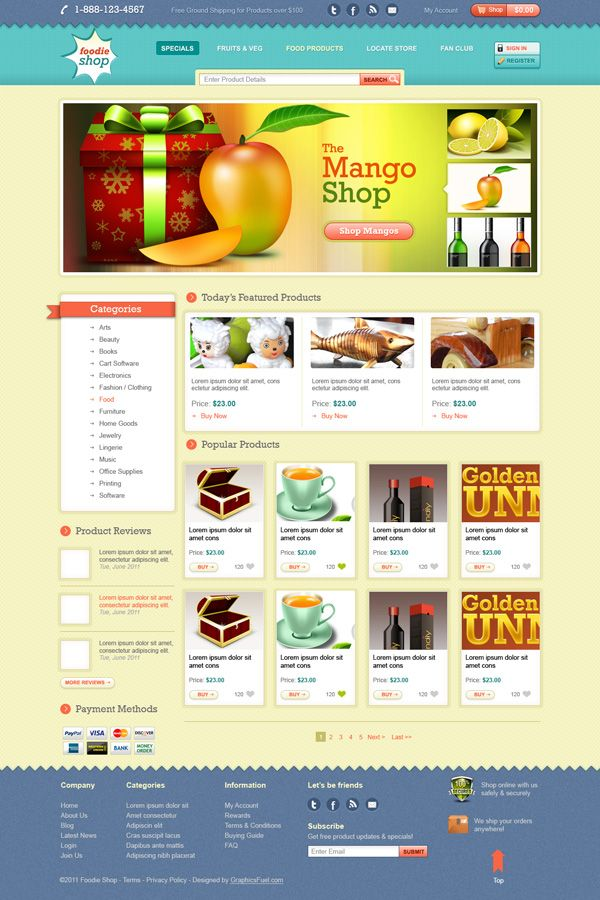 Ecommerce Website Template Design Psd Website Template Design Ecommerce Website Template Ecommerce Website