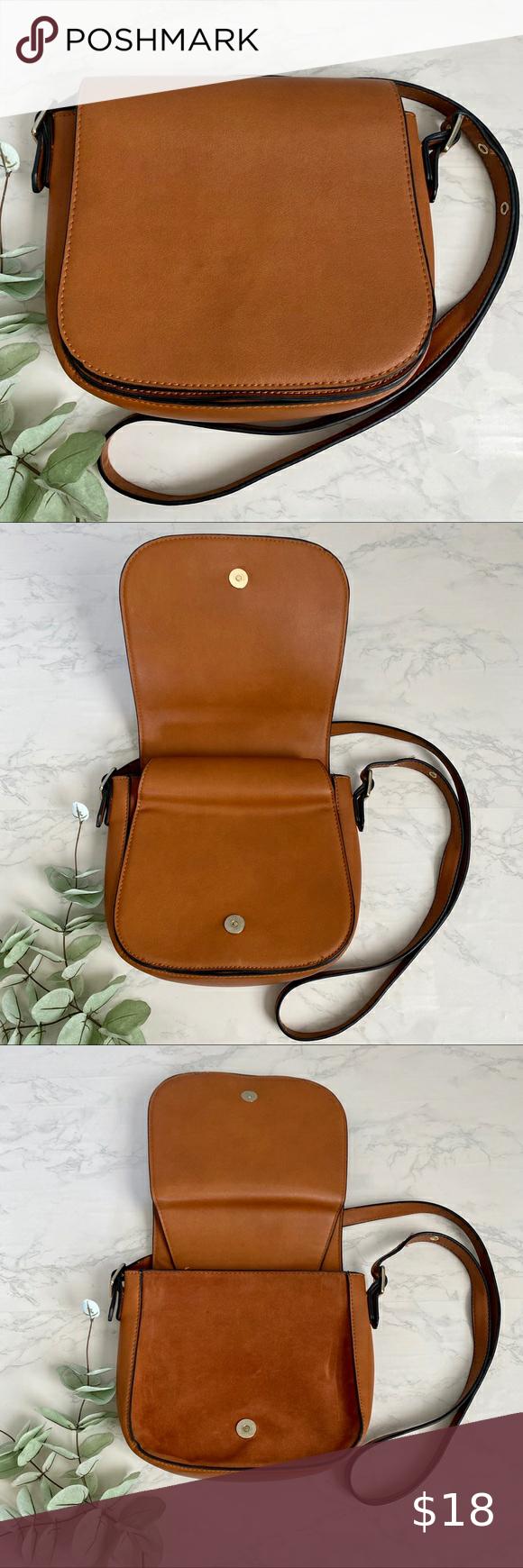Minimalist Crossbody Messenger Vegan Leather Bag In 2020 Vegan Leather Bag Crossbody Messenger Leather Bag