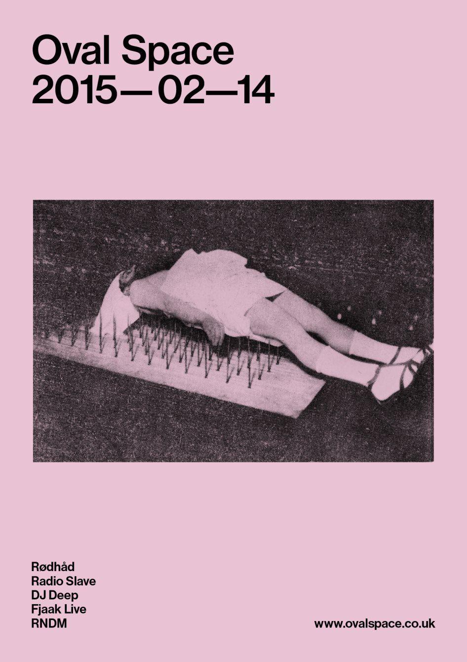 RA: Oval Space Music presents Rødhåd, Radio Slave, DJ Deep, Fjaak Live, Rndm at Oval Space, London (2015)