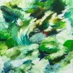 Sans titre. 146 x 114 cm Acrylique sur toile. 2013.    Philippe pujo.
