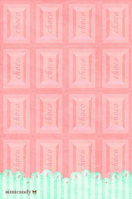Chocolate Wallpaper Ipod Wallpaper Pretty Wallpapers Kawaii