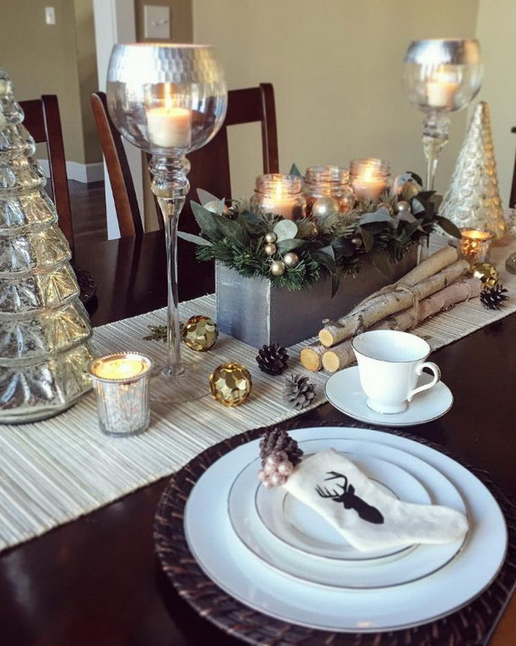 70 Ultra Modern Christmas Tablescapes