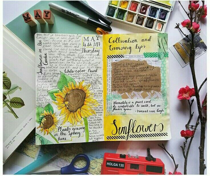Travel Journal Pages And Scrapbook Inspiration Scrapbook