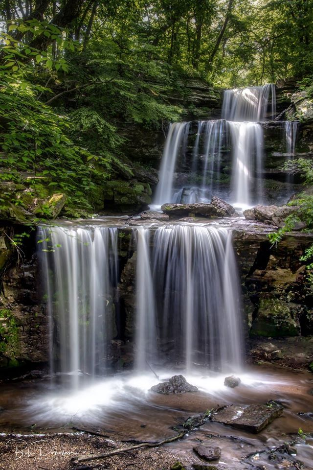 Triple Falls - Mankato (access from Kato Cycle Club Highway