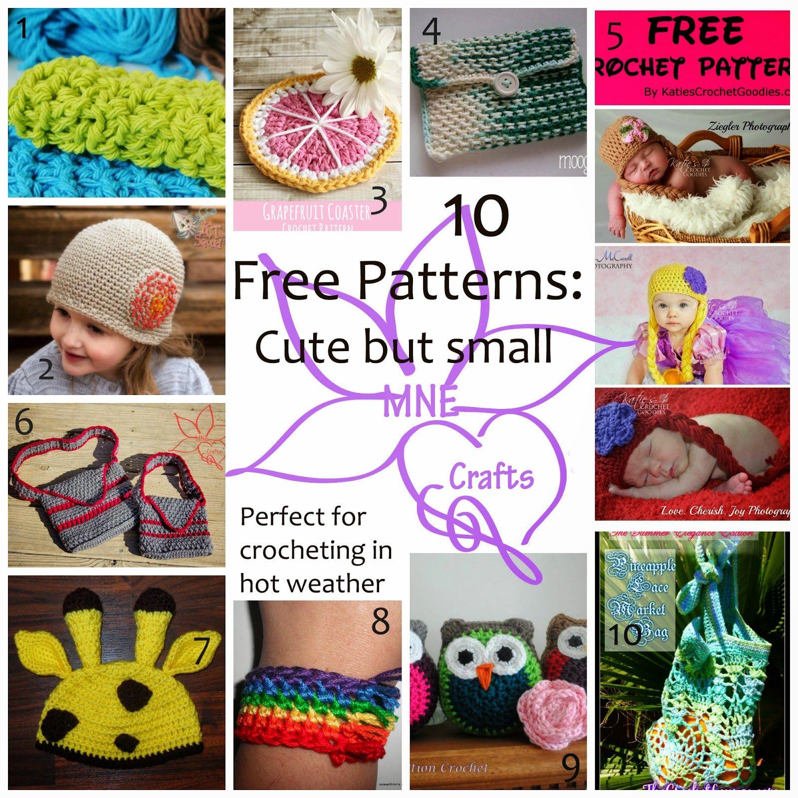 MNE Crafts: Free Pattern Round Ups