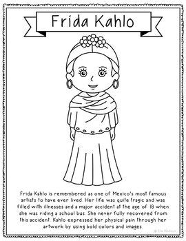 Photo of FAMOUS ARTISTS Coloring Pages for Crafts, Mini Books, and Interactive Notebooks