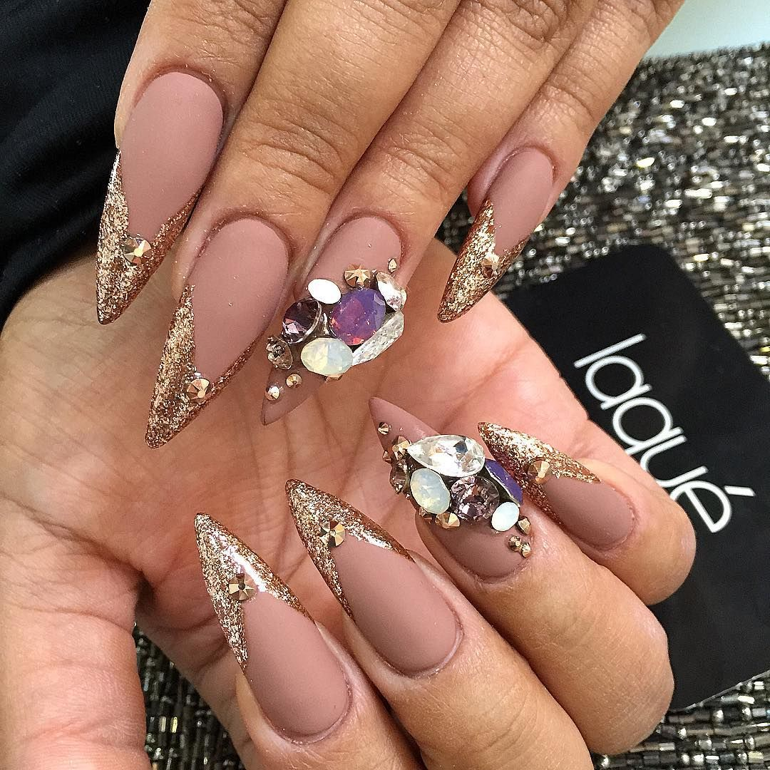 Pin by Jazzy Nicholette on Glamour Manicures: Deluxe Nail Art ...