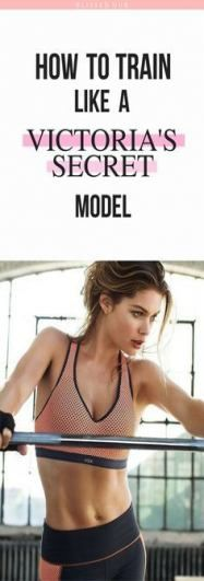 37+ Ideas Fitness Model Workout Routine Victoria Secret Angels For 2019 #fitness