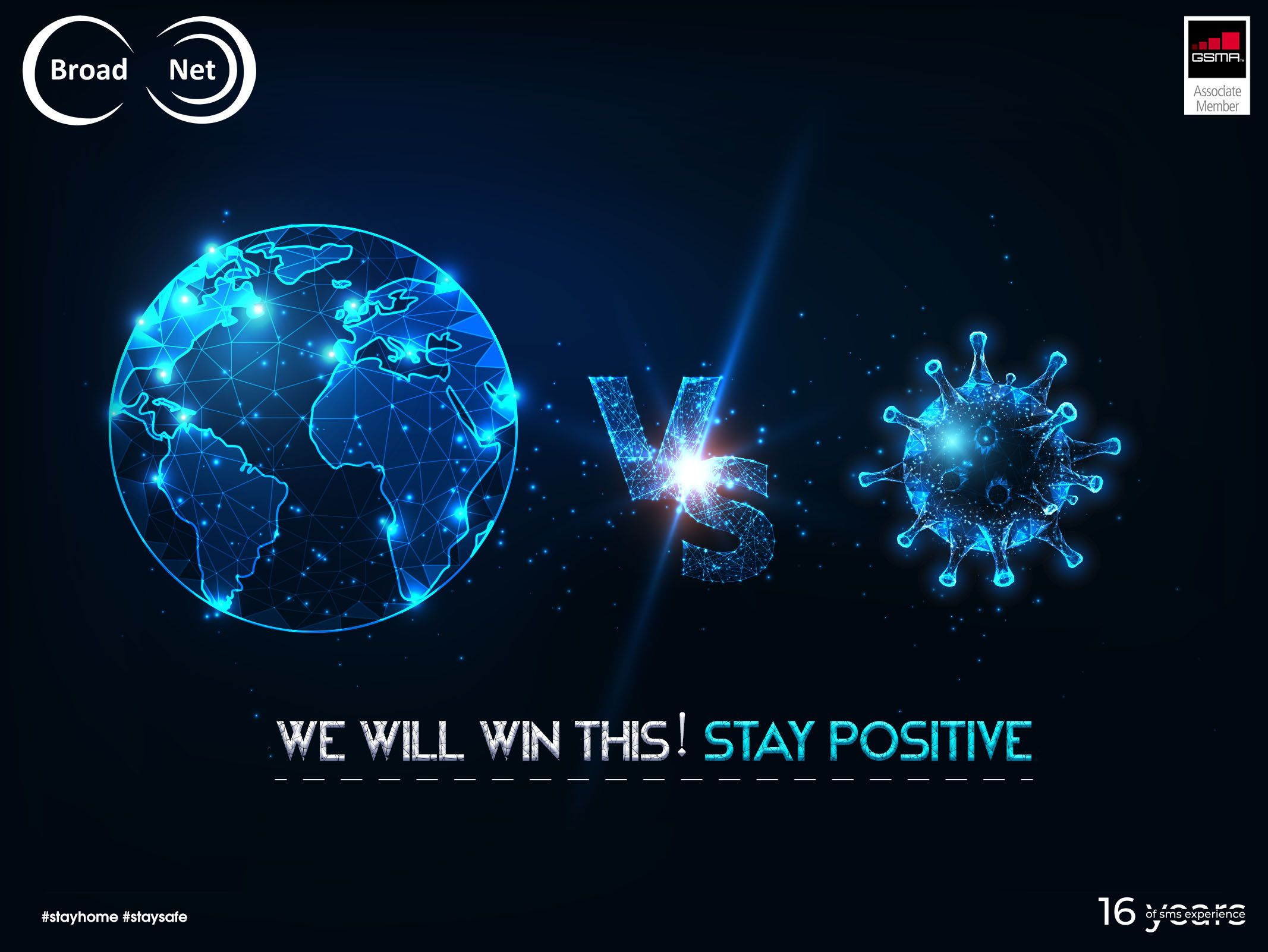 We will win this! Stay Positive Your Reliable Messaging