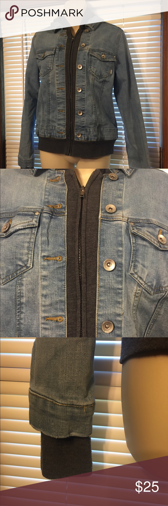 Hint Jean Jacket Jackets Lined Denim Jacket Jean Jacket [ 1740 x 580 Pixel ]