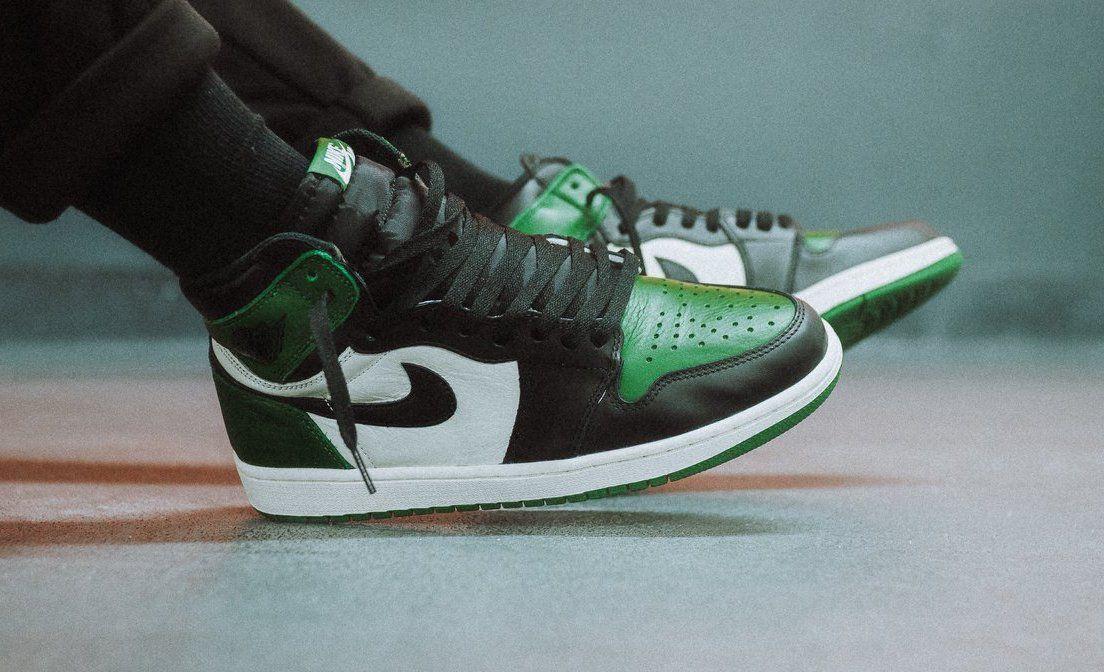 Air Jordan 1 Retro High Og Pine Green Online Links Air Jordans Jordan 1 Retro High Air Jordan Shoes