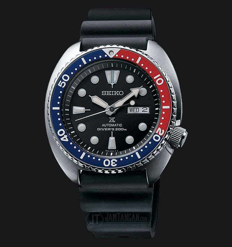 Rm1020 Jam Tangan Seiko Prospex SRP779K1 Turtle Edition Automatic Divers 200M Rubber Strap