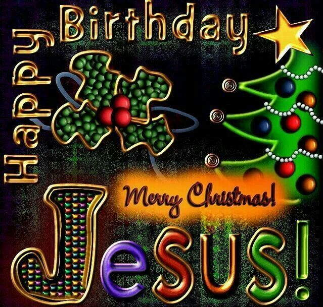 happy birthday merry christmas jesus