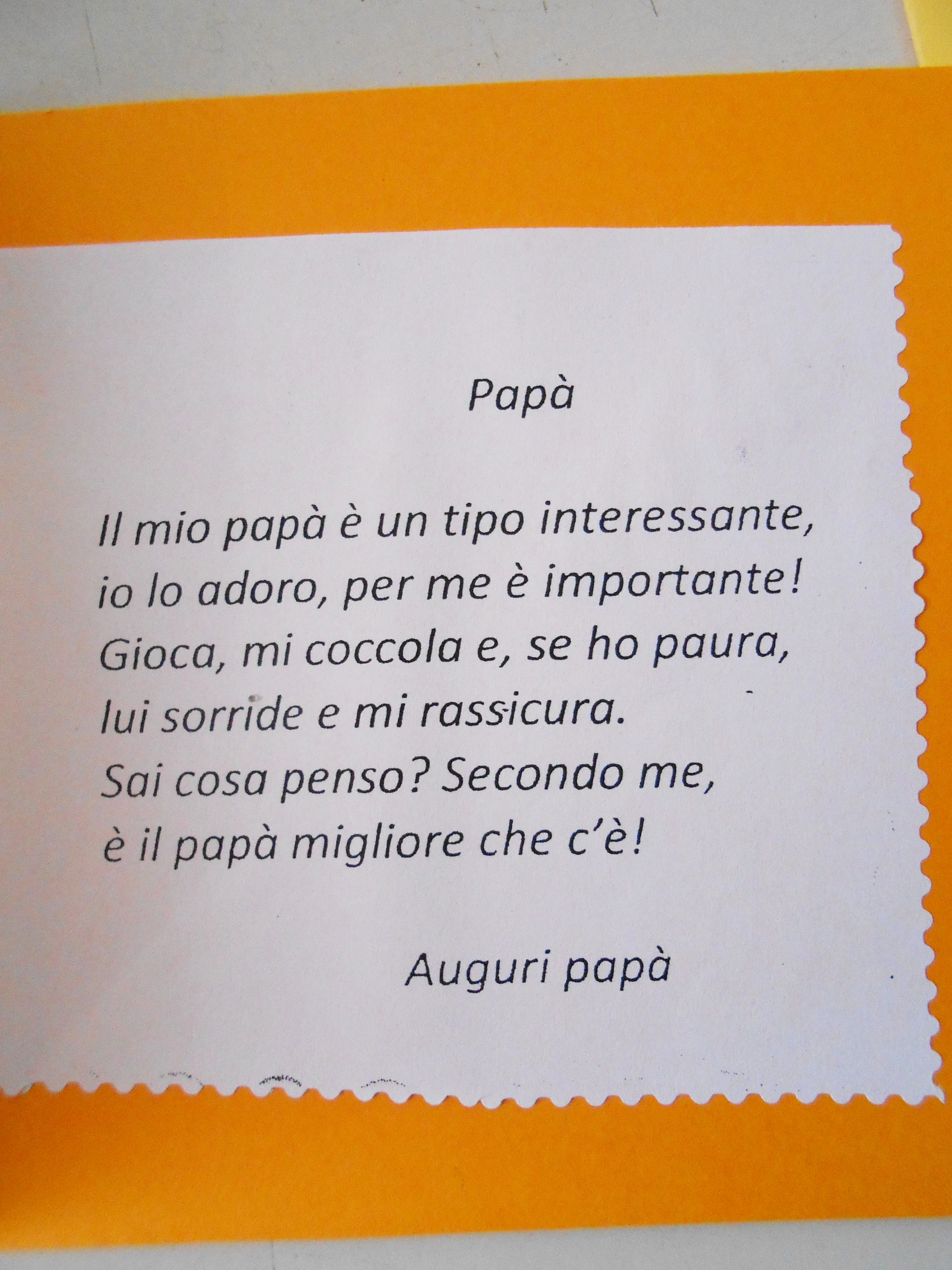 Pin Di Giorgia Bassan Su Papa Bigliettini Per Festa Del Papa Festa Del Papa Filastrocche Festa