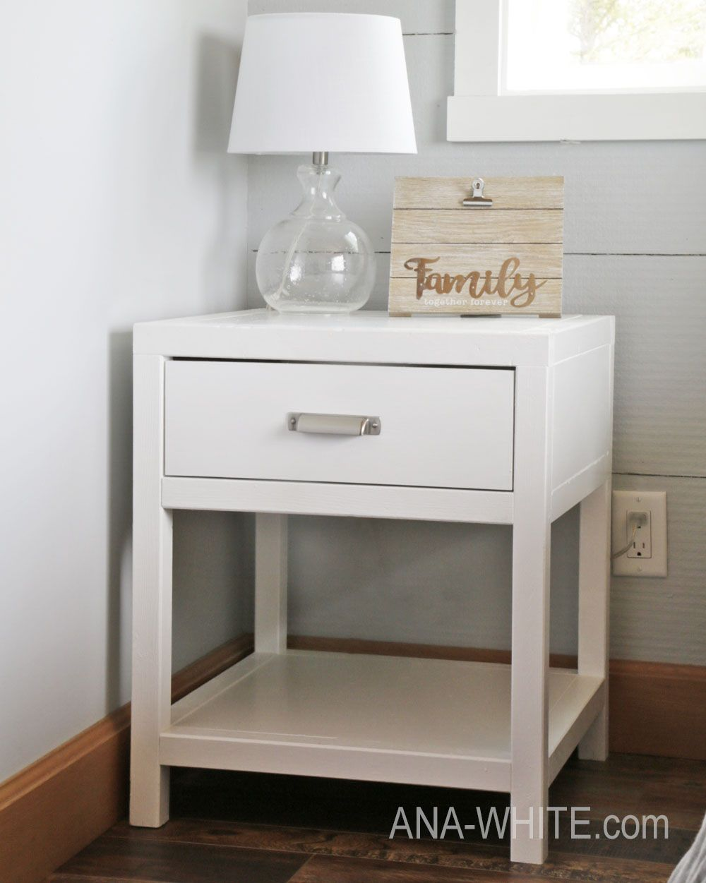 Best Simple Modern Bedside Table Knock Off Wood Possible 400 x 300