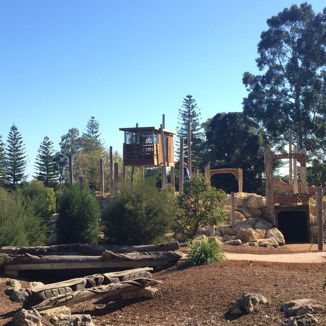 Kings Park Nature Playground - Perth Western Australia ...