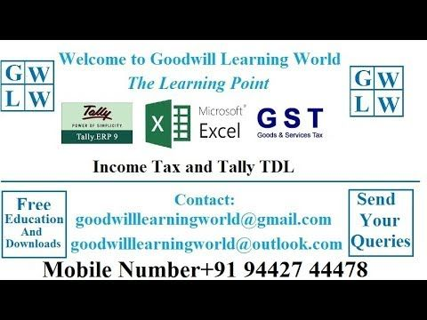 tally tdl to view ledger account cash book bills payable and bills