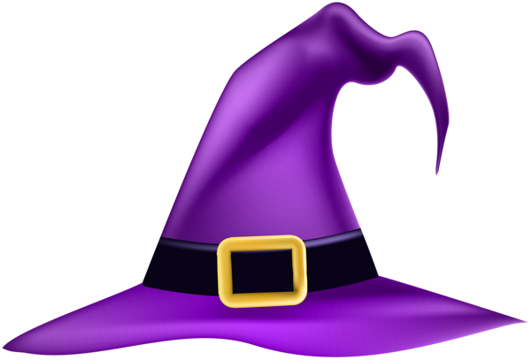 Halloween Witch Hat Png Clip Art Image Halloween Clipart Halloween Hats Halloween Images