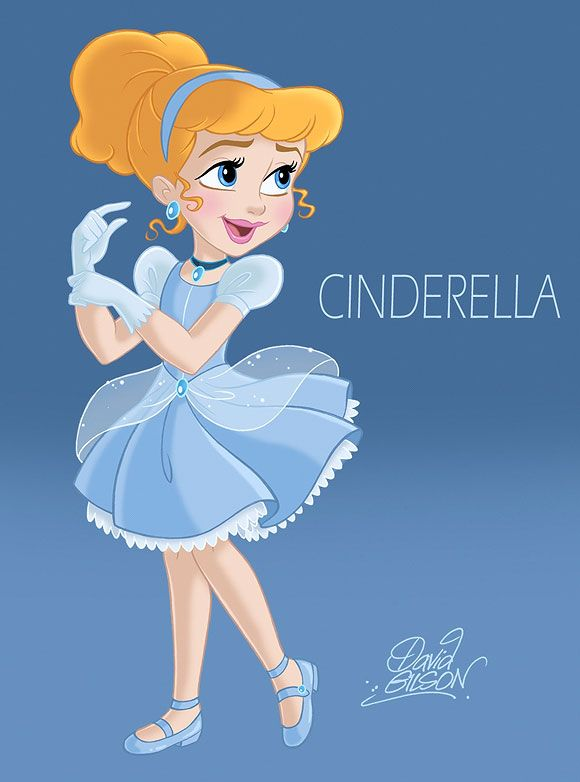 David Gilson - Cinderella | Disney | Pinterest | Princesas ...