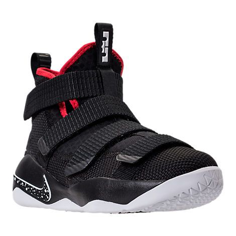 45ba08f44f7 Boys  Big Kids  Nike LeBron Soldier 11 Basketball Shoes in 2019 ...