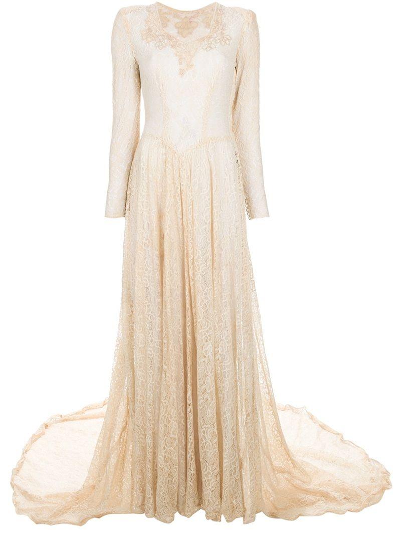 1930\'s vintage wedding gown | wedding dresses | Pinterest ...