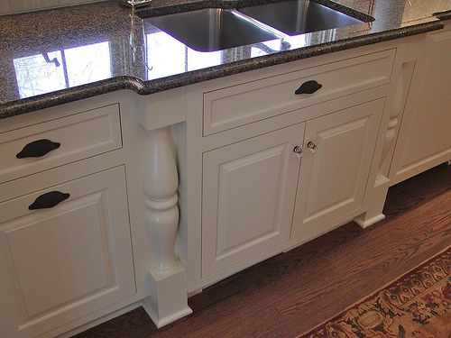 Bump Out Sink After Functional Kitchen Design Kitchen Cabinets