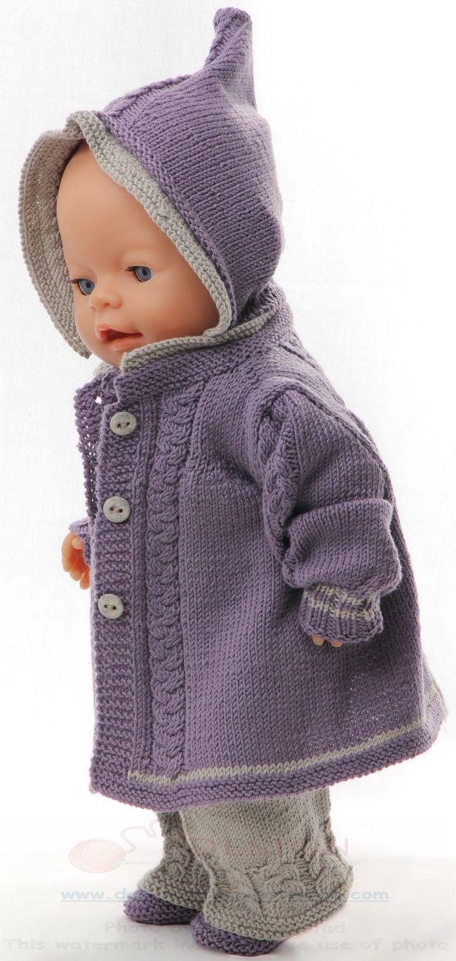 Knitting patterns for american girl dolls | Игрушки | Pinterest ...