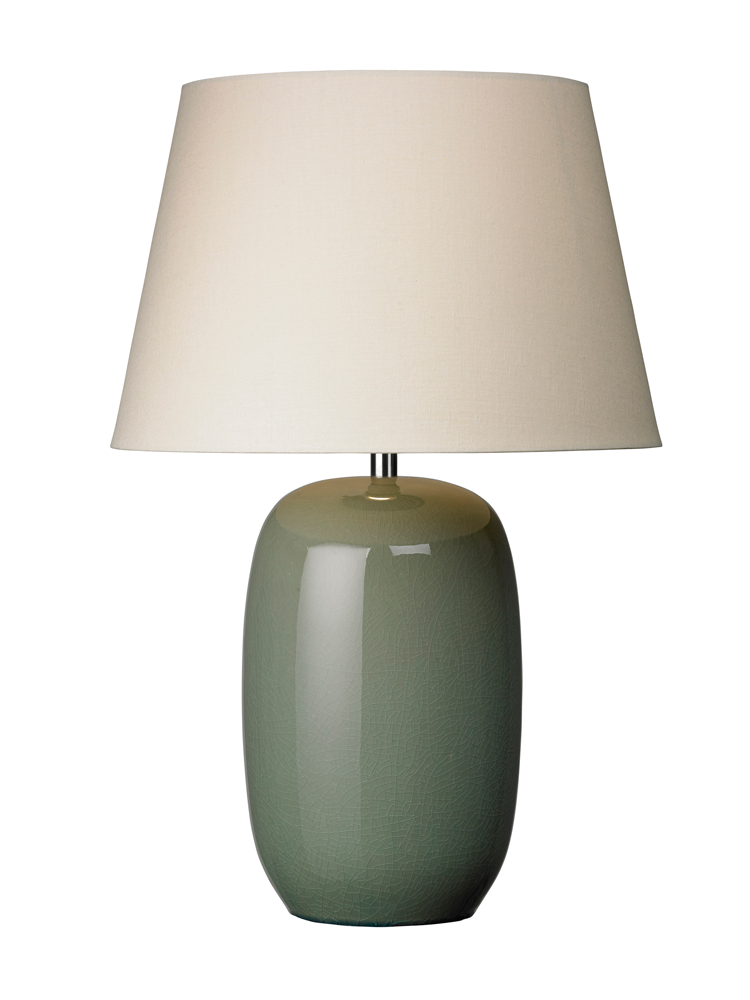 New Green Crackle Glaze Table Lamp Lighting Table Lamp Table