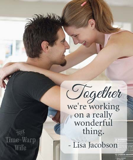 A great post about celebrating success in your marriage. - Lisa Jacobson  | Time-Warp Wife