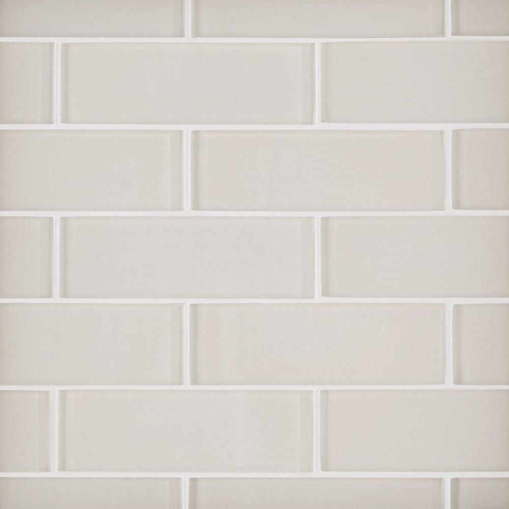 - Ivory 2 X 6 In. Brick Glass Mosaic (With Images) Mosaic Glass