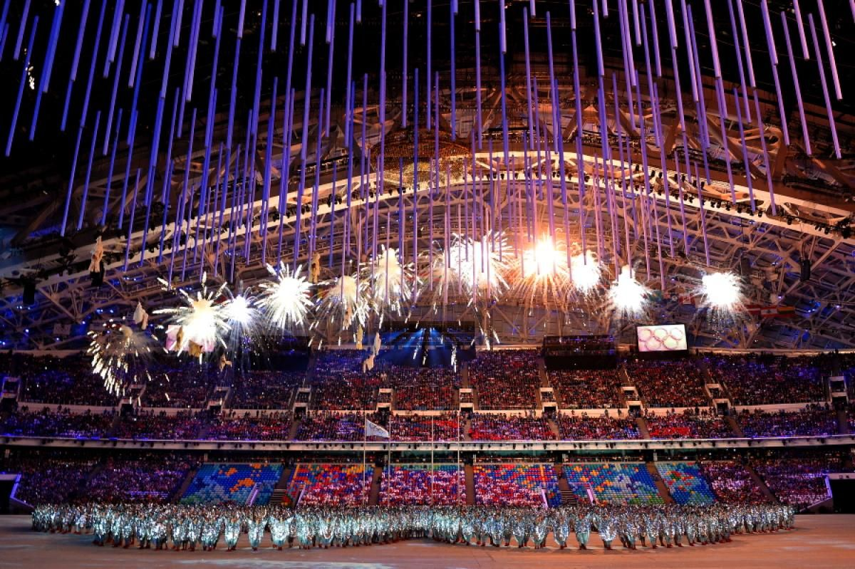 Sochi Winter Olympic Games Closing Ceremony