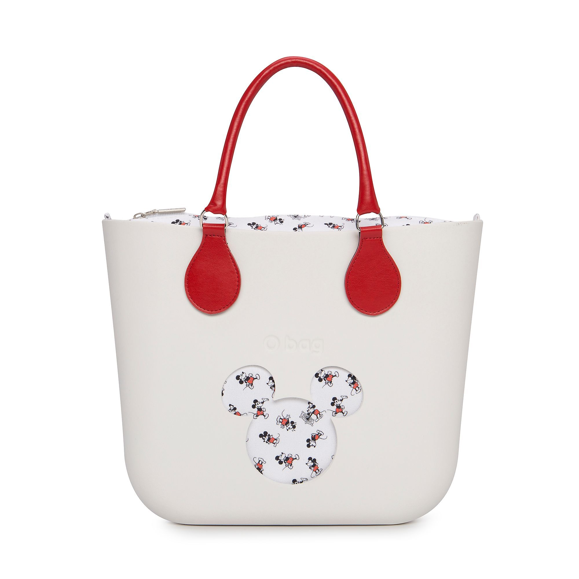 O Bag Mickey Mouse Mini White Handbag  da5c043749961