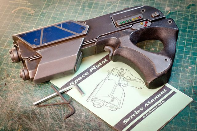The prop space gun project diy space gun kits by punished props the prop space gun project diy space gun kits by punished props solutioingenieria Gallery