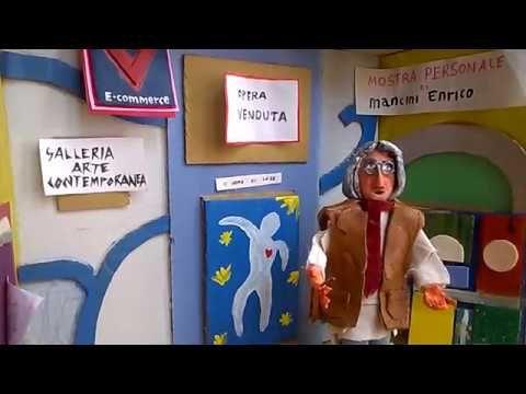 Mr George inaugura la sua galleria d'arte contemporanea.