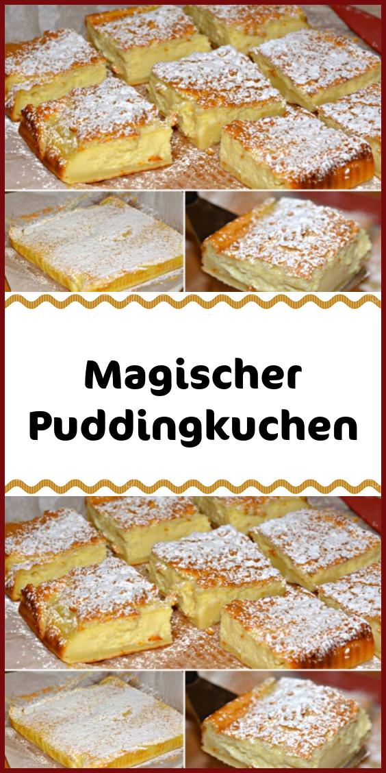 Magischer Puddingkuchen #kuchenundtorten