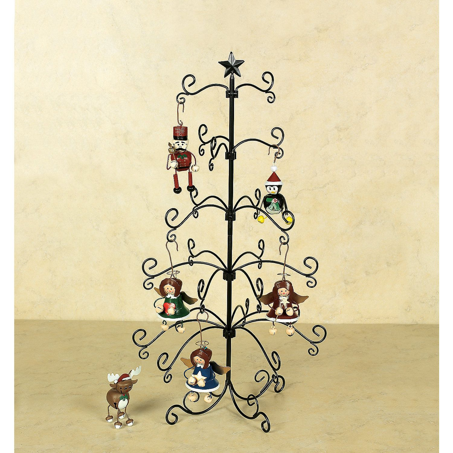 Special Christmas Ornaments Wire Display Tree ~New~ In Home &