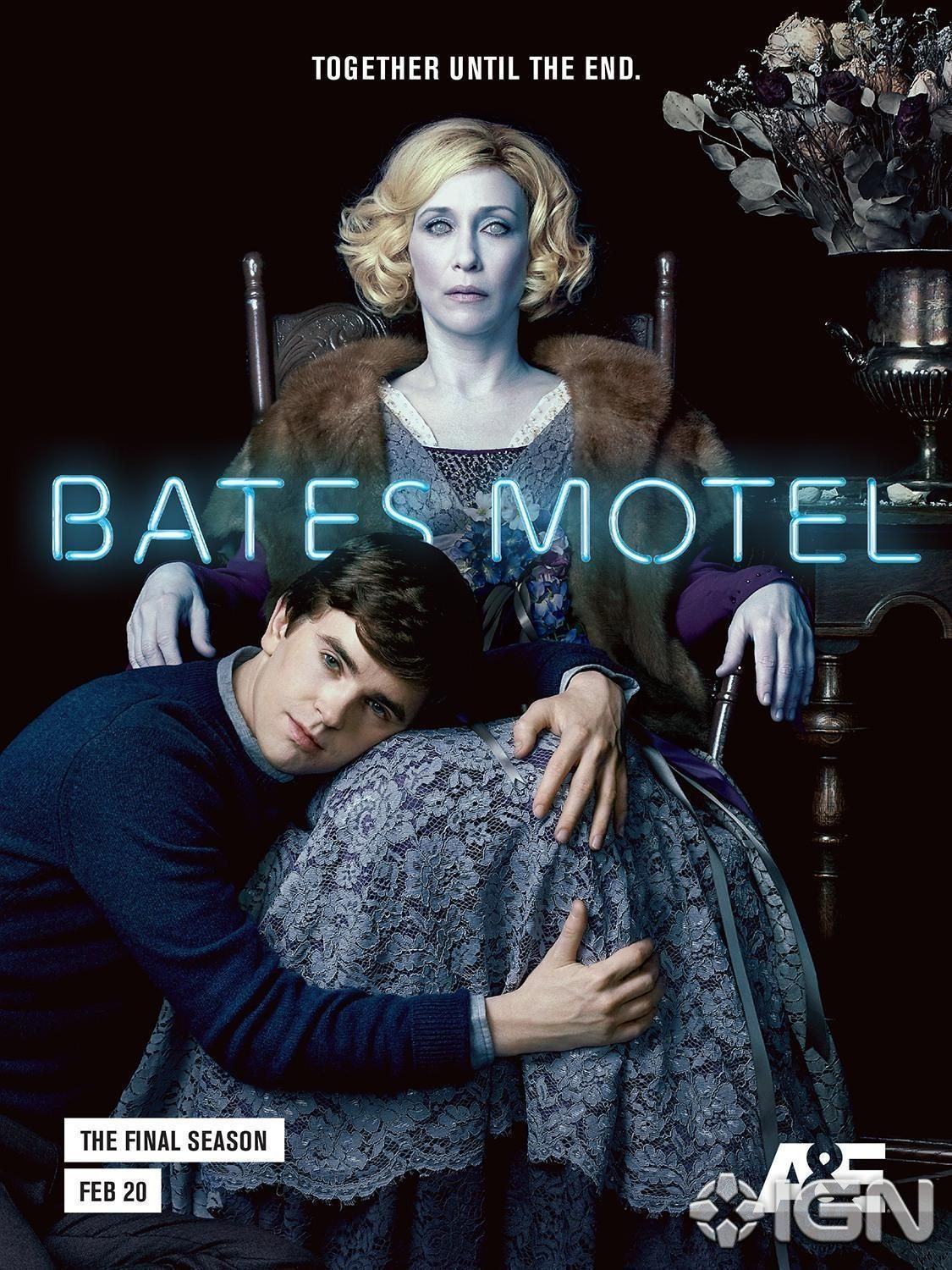 Bates Motel Morbid Posters For The Final Season Are Here Ihorror Bates Motel Bates Motel Season 5 Bates Motel Movie
