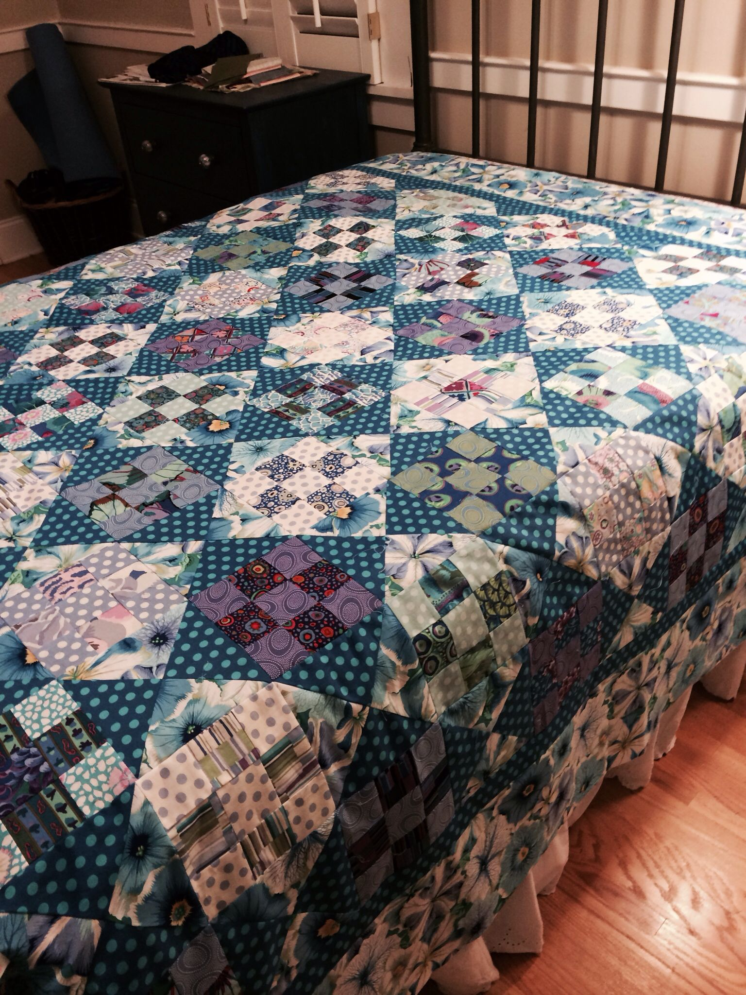 Kaffe fassett fabric and pattern