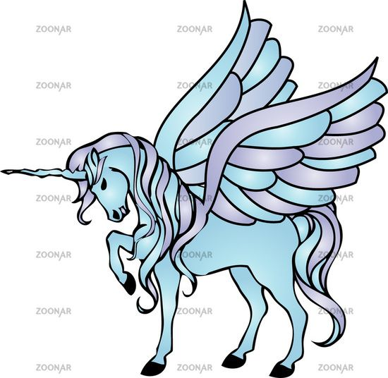 Einhorn Mit Flügel Ausmalbilder 05 As Unicorn Unicorn Drawing