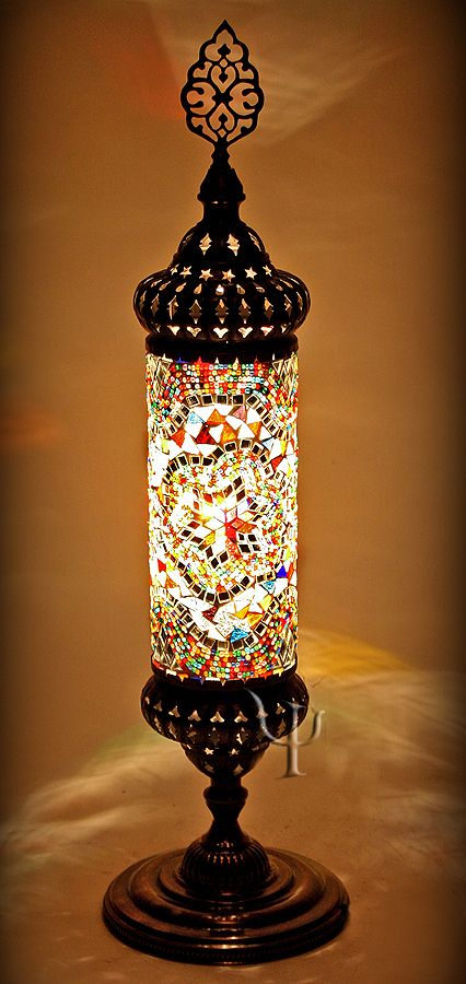 Mosaic Table Lamp Mosaic Lamp Victorian Lamps Turkish Lamps