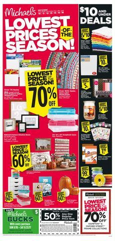 recipe: michaels weekly ad [17]