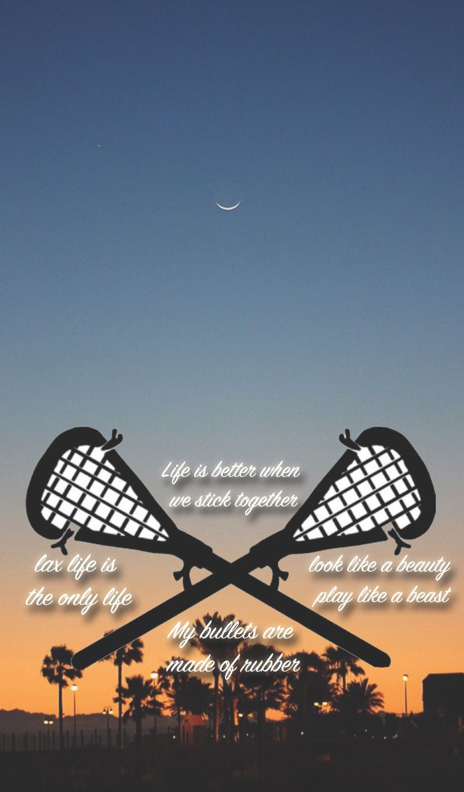 Made This Wallpaper For Lacrosse Lovers Fits Iphone Lock