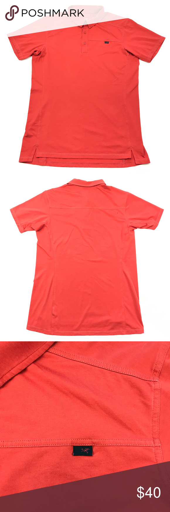 Arcteryx Captive Polo Short Sleeve Shirt My Posh Closet