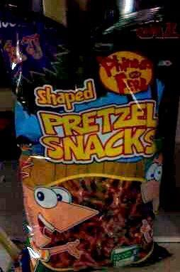 Phineas and Ferb pretzels, (: