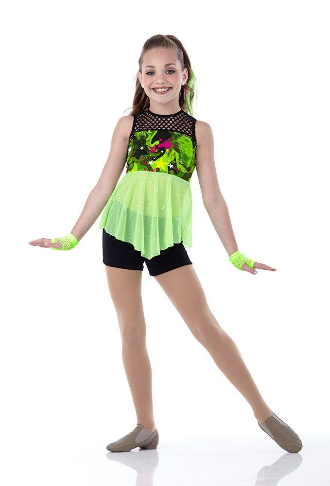 green dance costume - Google Search | dance | Dance moms