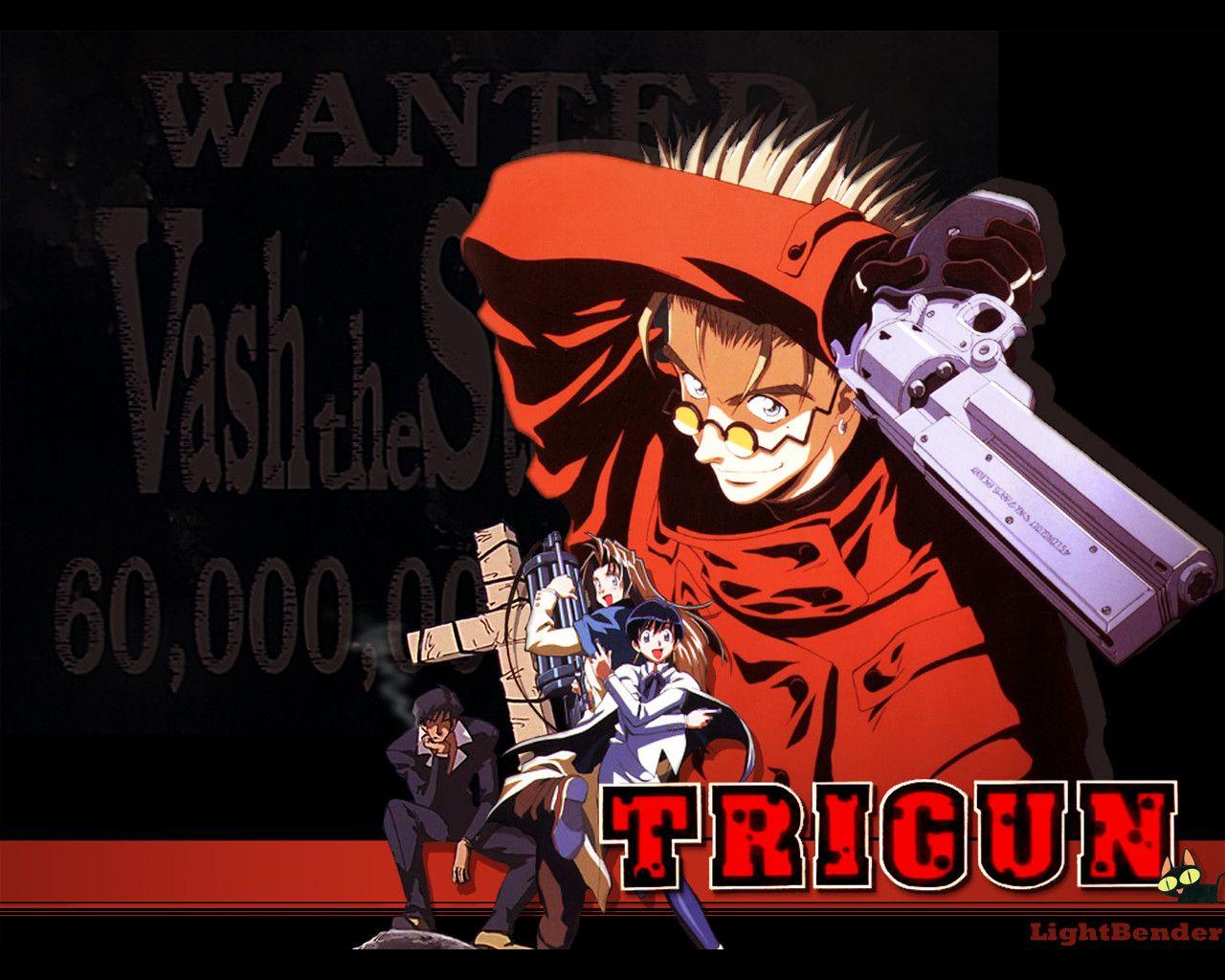 Trigun Trigun, Good anime series, Old anime