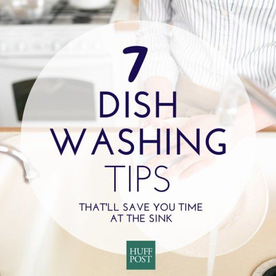 7 tips to help you hand-wash your dishes fast